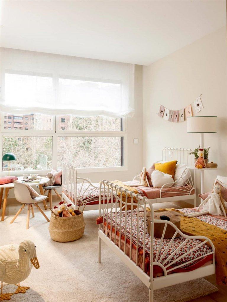 cuartos para niña de 11 años modernos  luminosos