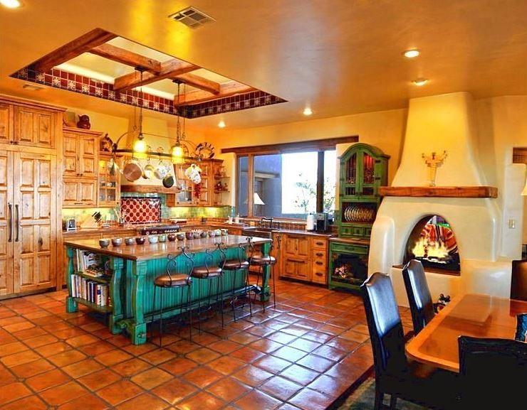 cocina mexicana colorida