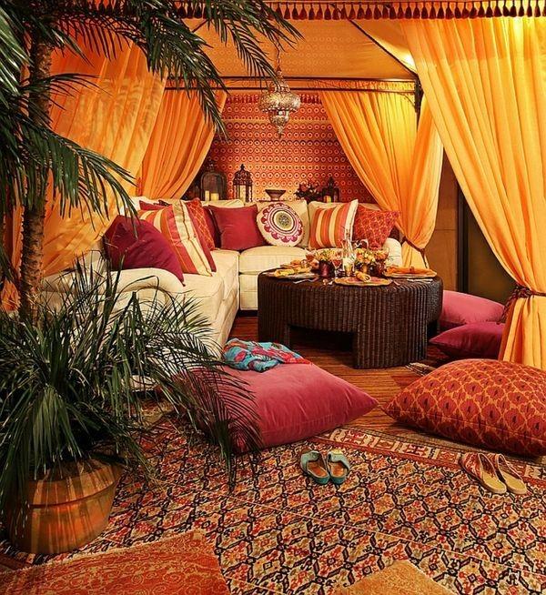 salones con decoracion arabe magico