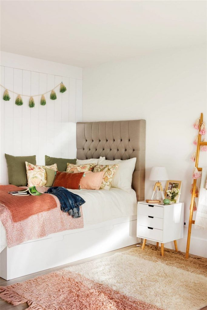 cuartos para niña de 11 años modernos  retro