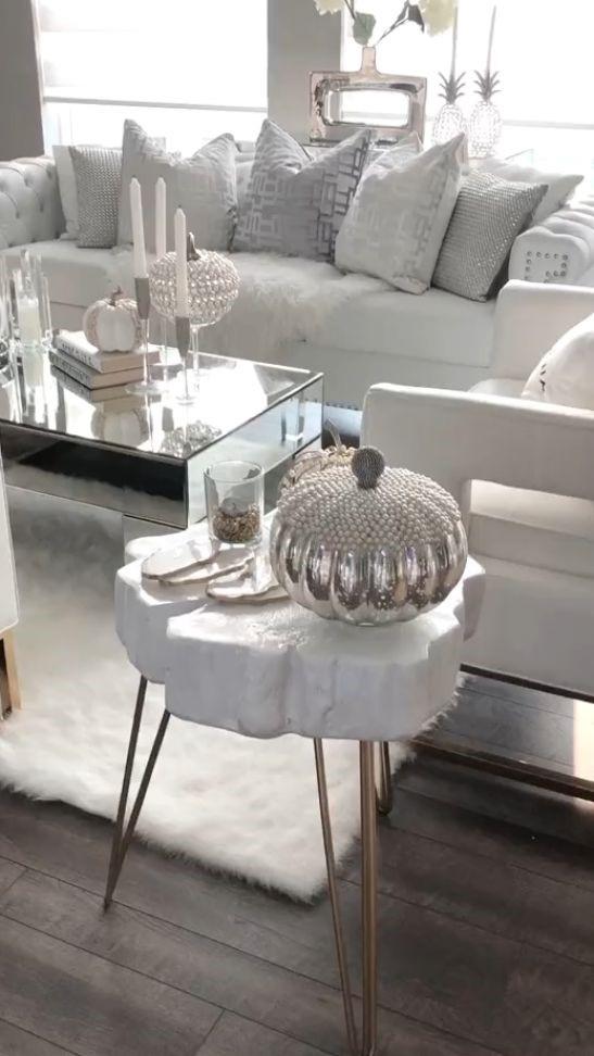 decoracion de salones elegantes con suelo gris