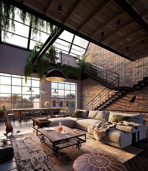 salones industriales y con paredes de cristal