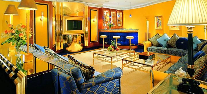 salones con decoracion arabe tradicional
