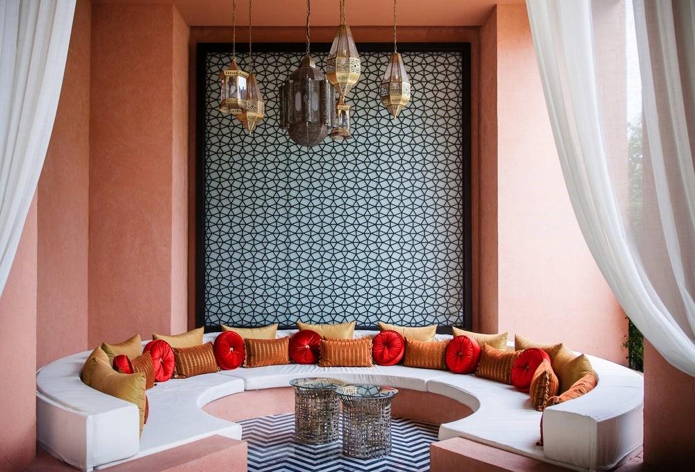 salones con decoracion arabe original