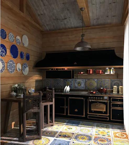 Talaveras en los platos que decoran tu cocina