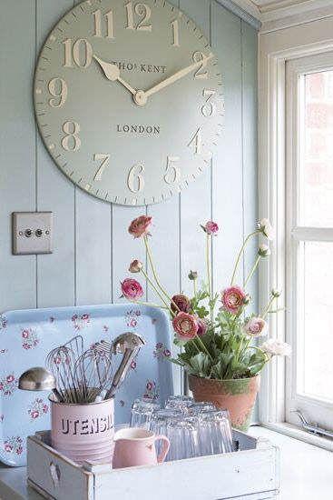 adorna tu cocina con un reloj de pared