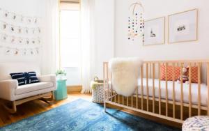 cuartos para bebes modernos