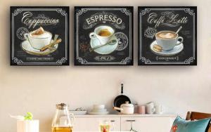 decoracion de cafe para cocina