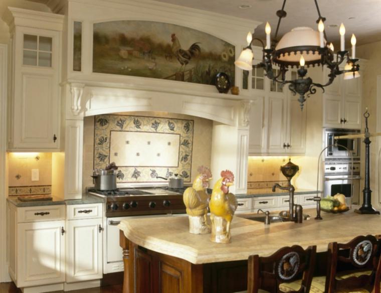 decoracion de cocinas antiguas papel pintado