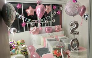 decoracion de cuartos para cumpleaños