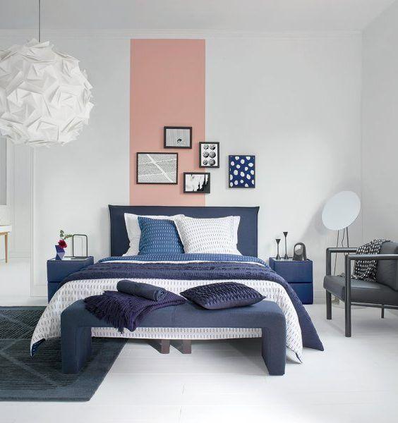 cuartos pintados bonitos fragmentados
