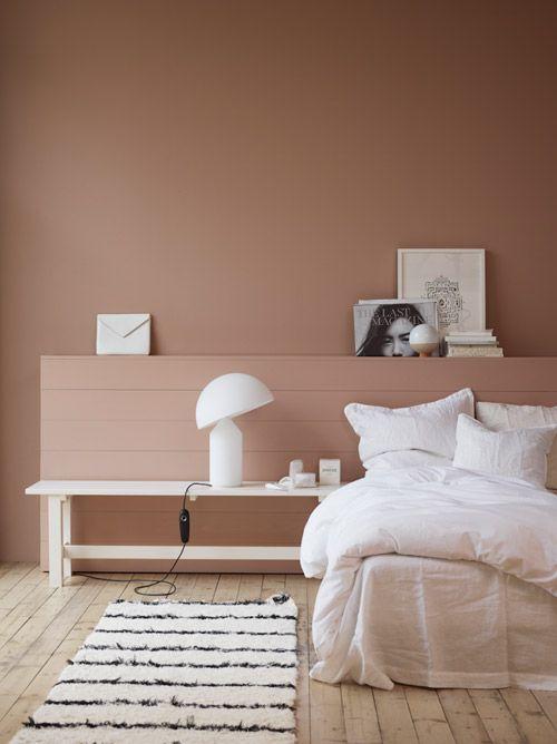 cuartos pintados bonitos terroso
