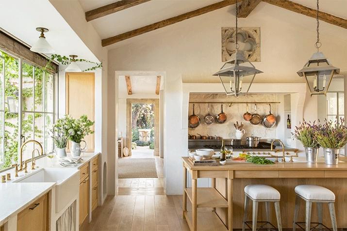 decoracion de cocinas antiguas  blanca