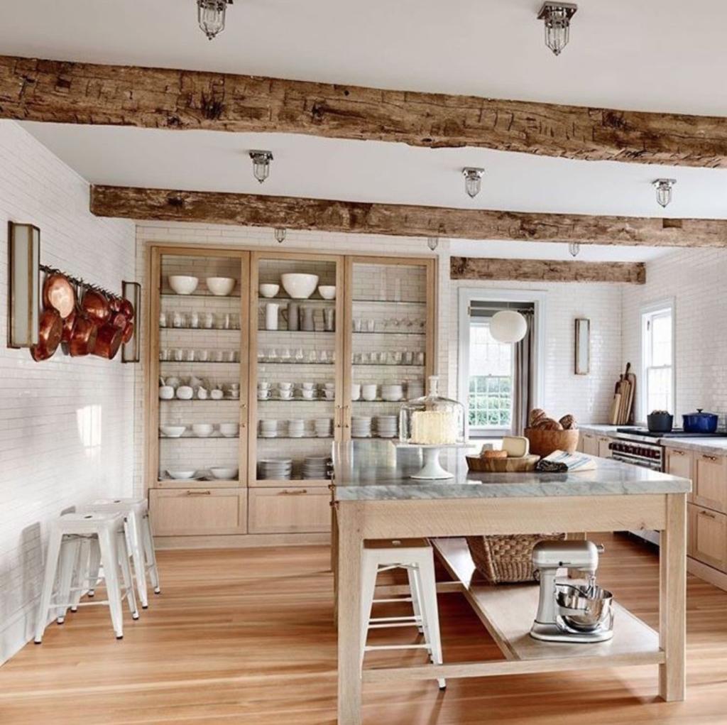 madera de roble para tu cocina farmhouse