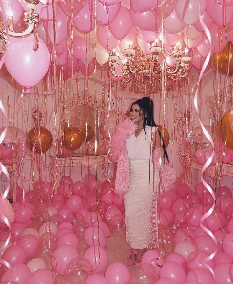 cuartos decorados muchos globos