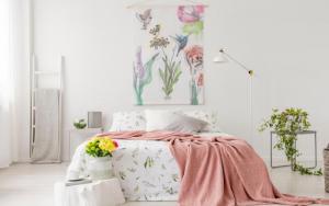 paredes decoradas para dormitorios