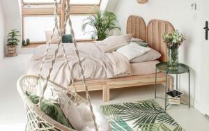 plantas para decorar un dormitorio