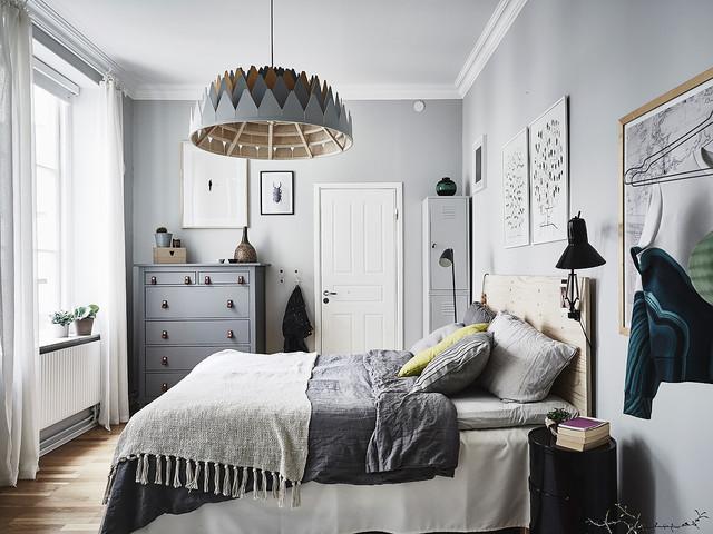 cuartos pintados bonitos grises