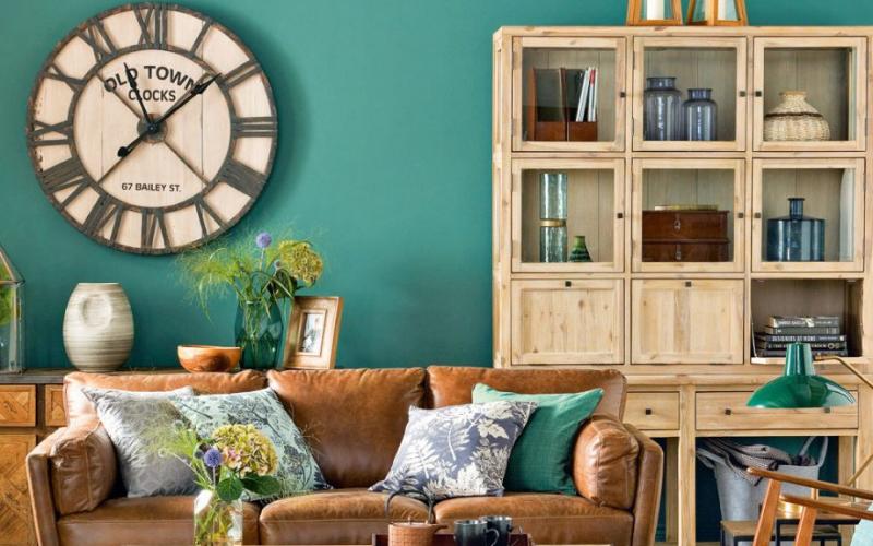 12 Salones a dos colores increíbles - Decoratips