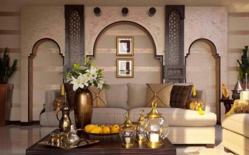 9 Salones con decoración árabe - Decoratips