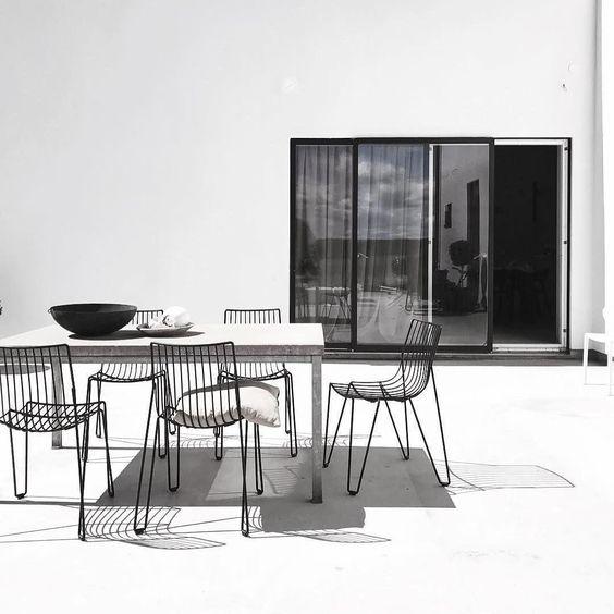 menos es mas  para Decoración de patios pequeños minimalistas