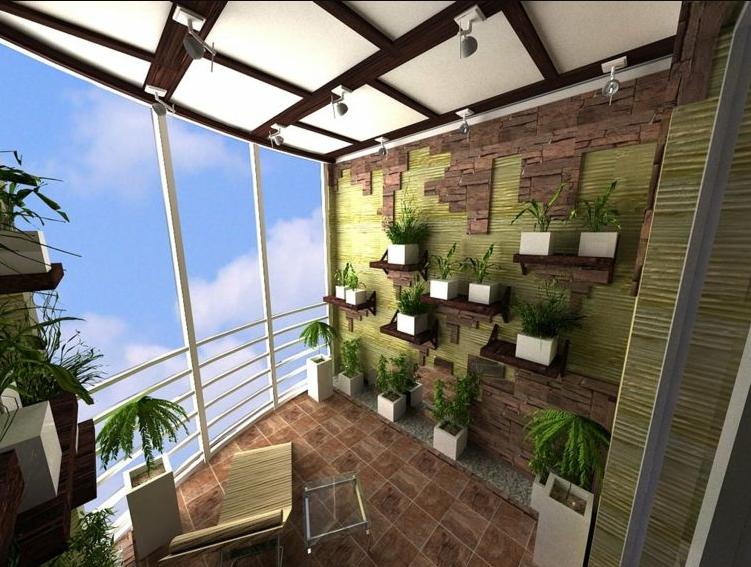 Decorar terrazas y balcones minimalistas con plantas