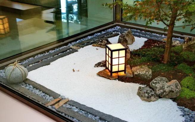 Patios modernos y pequeños estilo japones