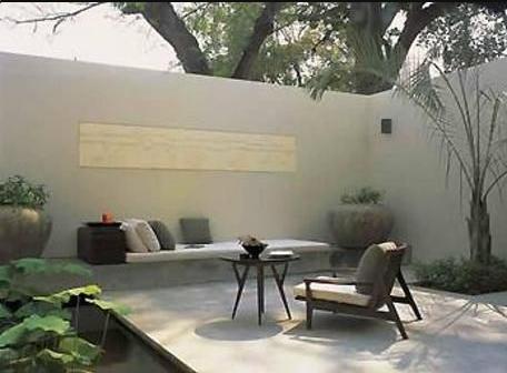 Patios modernos y pequeños minimalista