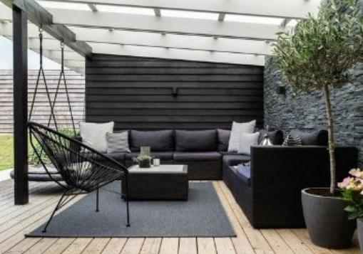 Decorar terrazas techadas en un loft