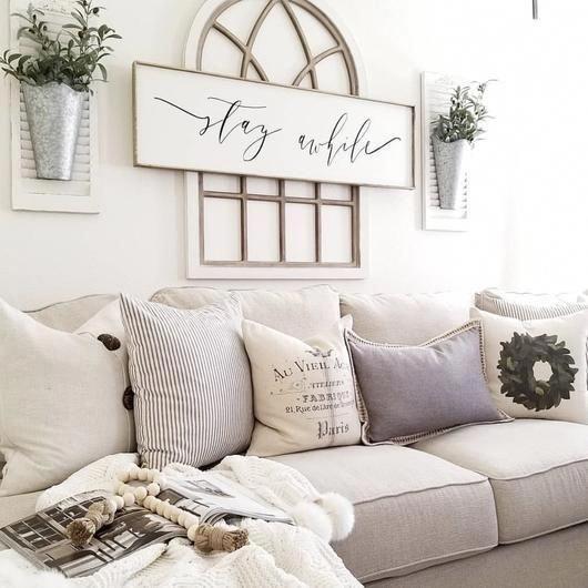 Mensajes Positivos sobre el sofá