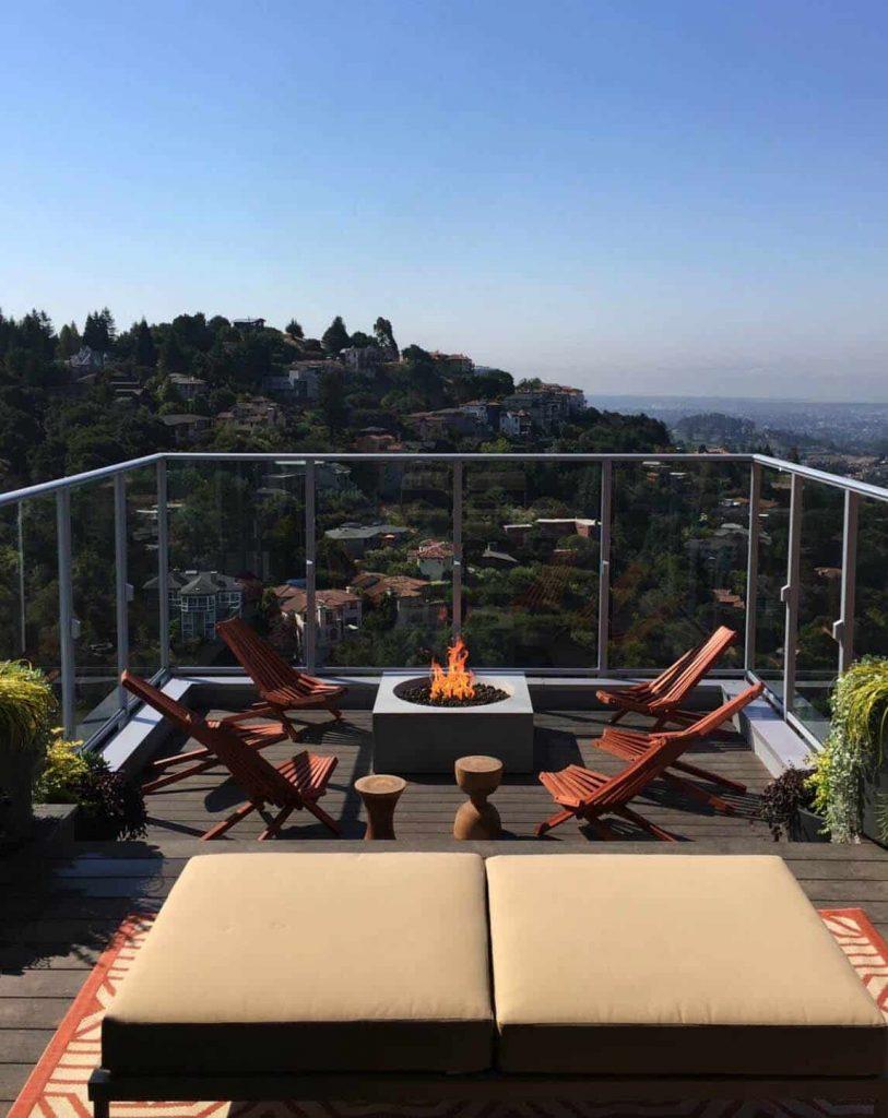 Aprovecha las vistas de la terraza de tu ático