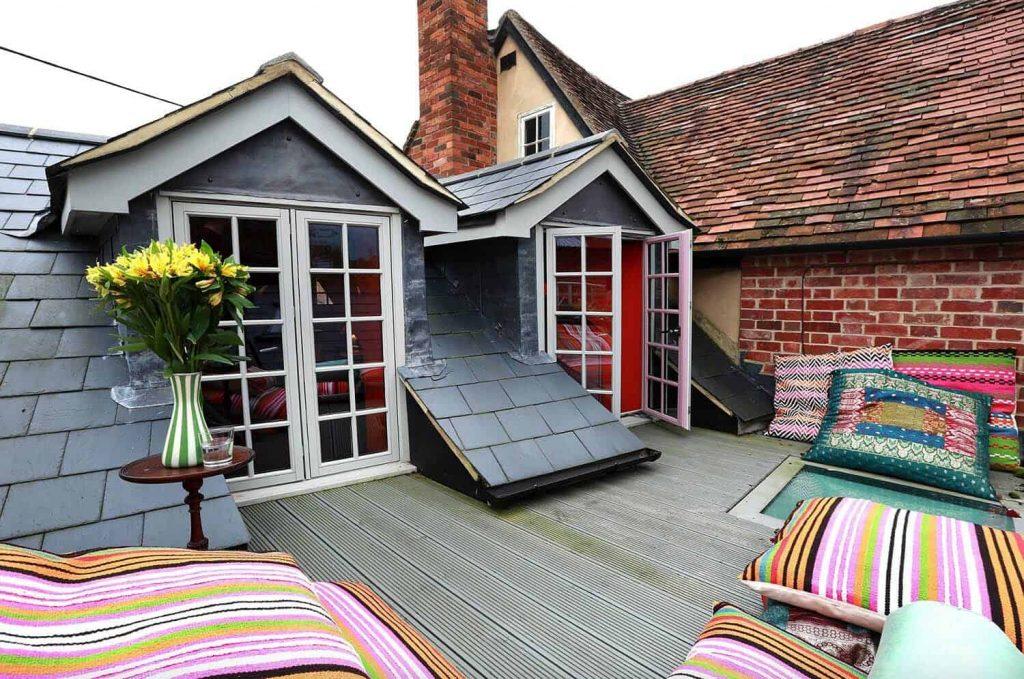 Dale un toque de relax a la terraza de tu ático