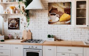 Decorar paredes de cocinas vintage