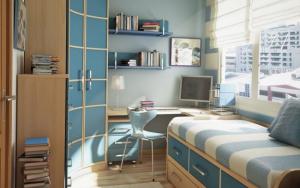 Dormitorios pequeños para adolescentes