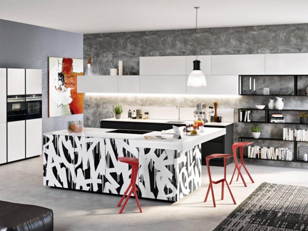 Una mesa de cocina que se viste sola