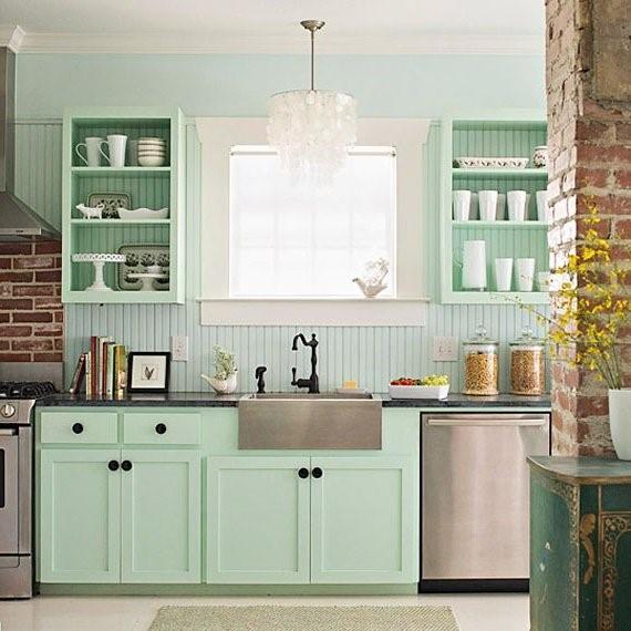 La vieja arquitectura con aires modernos para la cocina