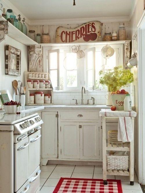 Claridad vintage para tu cocina