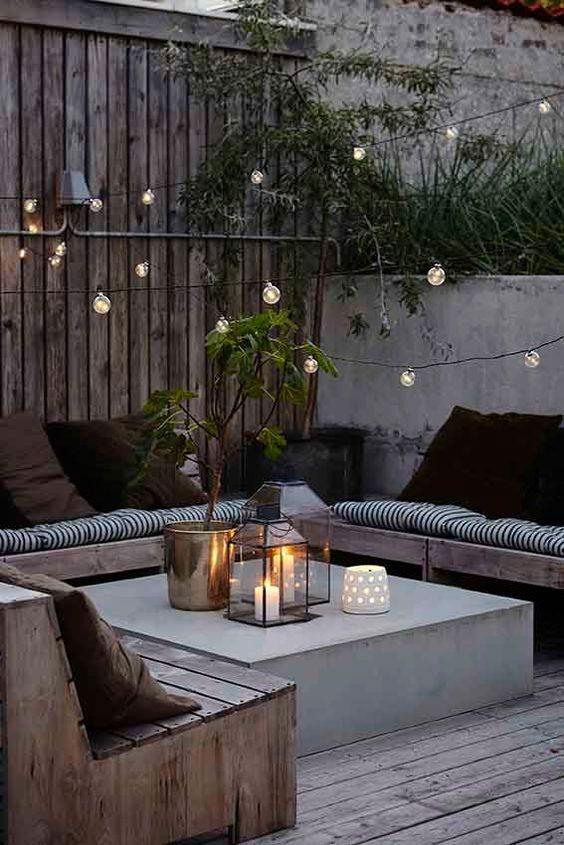 decorar patios internos romanticos