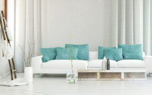 cojines para sofá blancos
