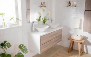 decoración de baños muy pequeños