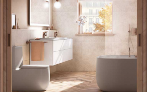 decoración para baños pequeños modernos