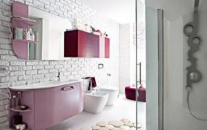 decoración para pared de baños modernos