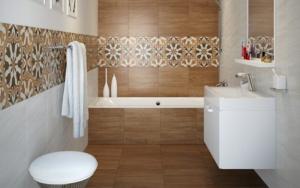 decorar Paredes para baños pequeños