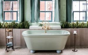 decorar baños pequeños con plantas