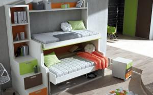 decorar habitacion pequeña para dos niños
