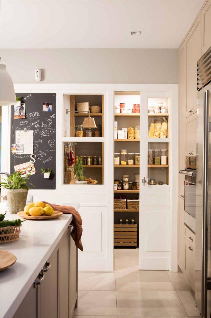 huecos aprovechados en cocinas pequeñas