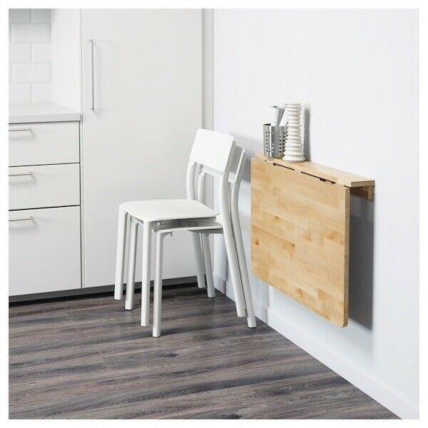 mesa plegable para amueblar una cocina pequeña