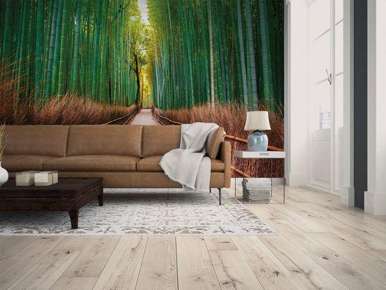 Un pintoresco paisaje en la pared de tu salón