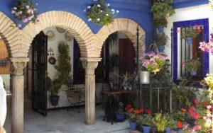 patio español decoracion