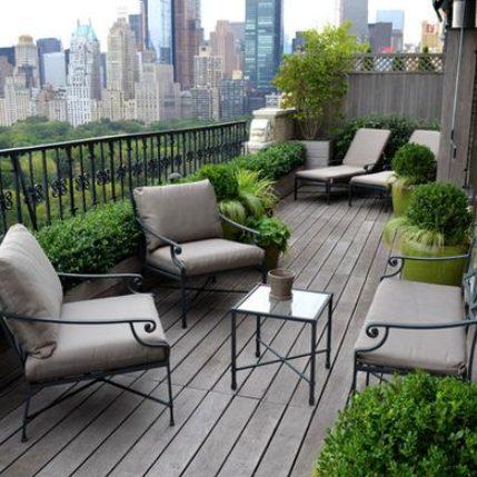 Aprovecha al máximo el espacio de tu terraza de ático pequeño